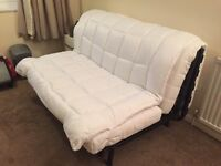 Double Bed Futon & Free Mattress Topper - £30 pick up only Hatfield