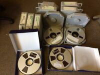 "15 Reels of 2"" x 2500' Ampex (Quantegy) 456 / RMG 911 Studio Tape"