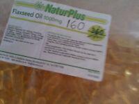 FLAXSEED OIL TABLETS 1000 mg