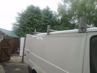 Factory made galvanised david murphy roofrack for s.w.b ford transit