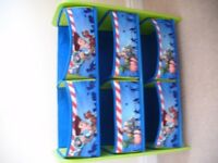 Blue Boy Story children organizer unit