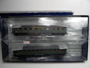 Liliput-L350006-HO-SNCF-Wagen-Set-Personenwagen-1-2-u-3-Kl-NEU-in-OVP