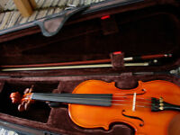 1/4 size Stentor violin in excellent condition: teacher-recommended brand