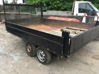 Tipper trailer /transit tipper body
