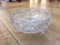 Decorative Crystal Glass Bowl