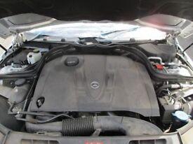 2008 MERCEDES W204 2.2CDI ENGINE A6460108498 INJECTORS & PUMP INCLUDED #13714