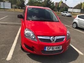 Vauxhall. Zafira diesel family car