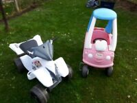 Outdoor Toys - Little Tikes Cozy Coupe Car & Electric Quad Bike