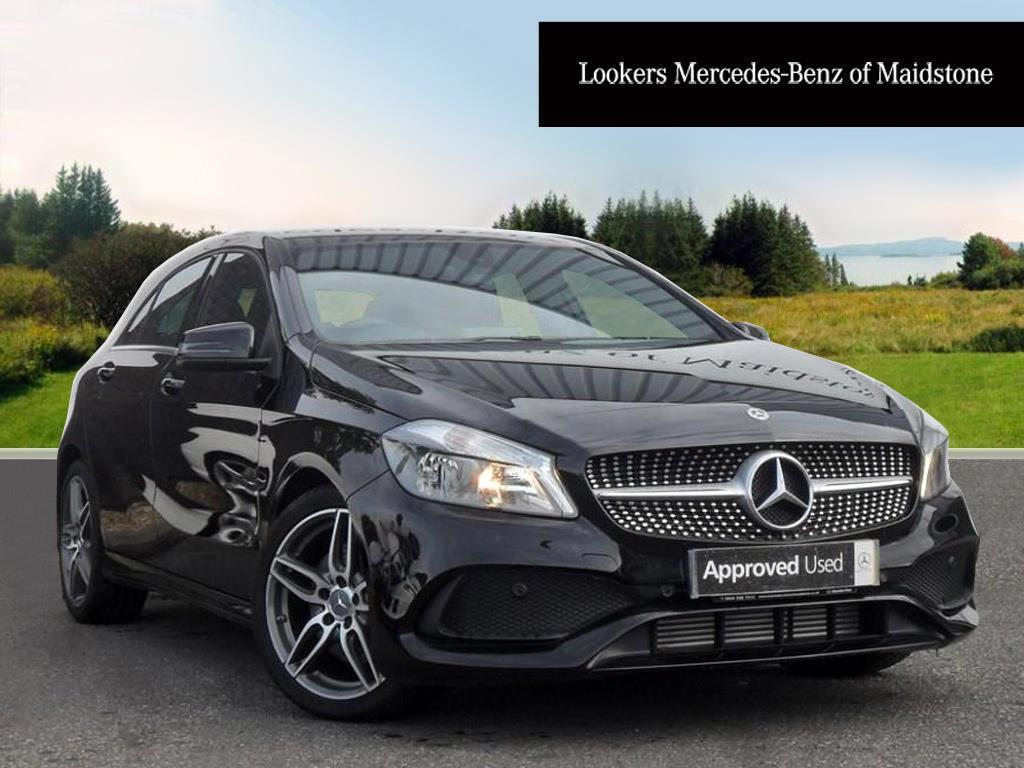 mercedes benz a class a 220 d amg line executive black 2017 09 06 in maidstone kent gumtree. Black Bedroom Furniture Sets. Home Design Ideas