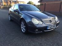 Mercedes-Benz C Class 1.8 C200 Kompressor 2dr *** Full Service History** Low Miles** Great Runner
