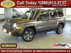 2015 Jeep Patriot High Altitude 4x4, Leather, Sunroof!