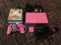 Pink Sony PlayStation 2 / PS2