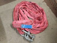 Land Rover Recovery off road 5 ton strop lifting sling shackles
