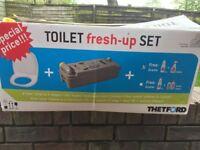 Caravan thetford cassette toilet fresh up kit c2,c3,c4