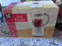 Morison jug blender new in box 1.5 ltr 500 watt £9