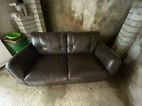 2 seat leather sofa - furniture village