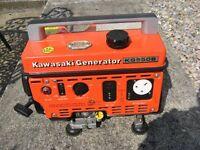 kawasaki generator kg550b
