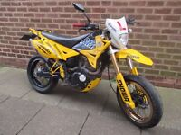 pioneer 125 crosser very nice running bike with mot