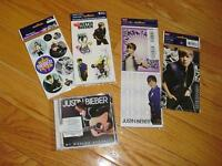 Brand New - Unopened Justin Bieber CD and Stickers