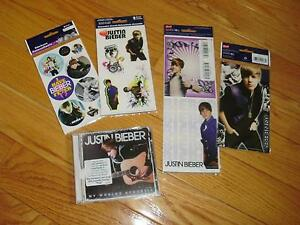Brand New - Unopened Justin Bieber CD and Stickers London Ontario image 1