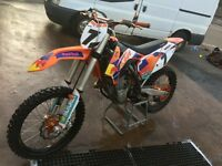 ktm 450 road legal bought brand new 2015