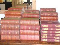 PUNCH SATIRICAL MAGAZINE - FULL LEATHER BOUND SET Vols 1-189 ++
