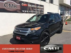 2013 Ford Explorer XLT V6 4X4 7-PASS LEATH ROOF