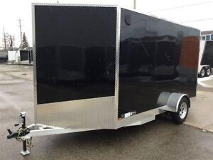 2018 Canadian Trailer Company 7X12 V-Nose Cargo Trailer