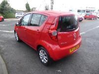 Vauxhall Agila SE (red) 2014-01-06