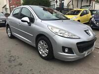 2011 Peugeot 207 1.6 HDI Active. Diesel. 48000 Miles Only. 2 Owners. Low Road Tax. Very Economical.