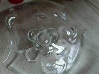 Murano Italian glass centrepiece