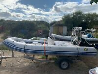 Zodiac Medline II Compact Rigid Boat 2006 Suzuki 90BHP Superb Condition