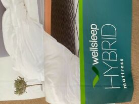 Double Wellsleep Mattress for sale only been used for six months