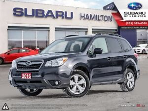 2016 Subaru Forester 2.5i Convenience Package INCOMING | LOW KM
