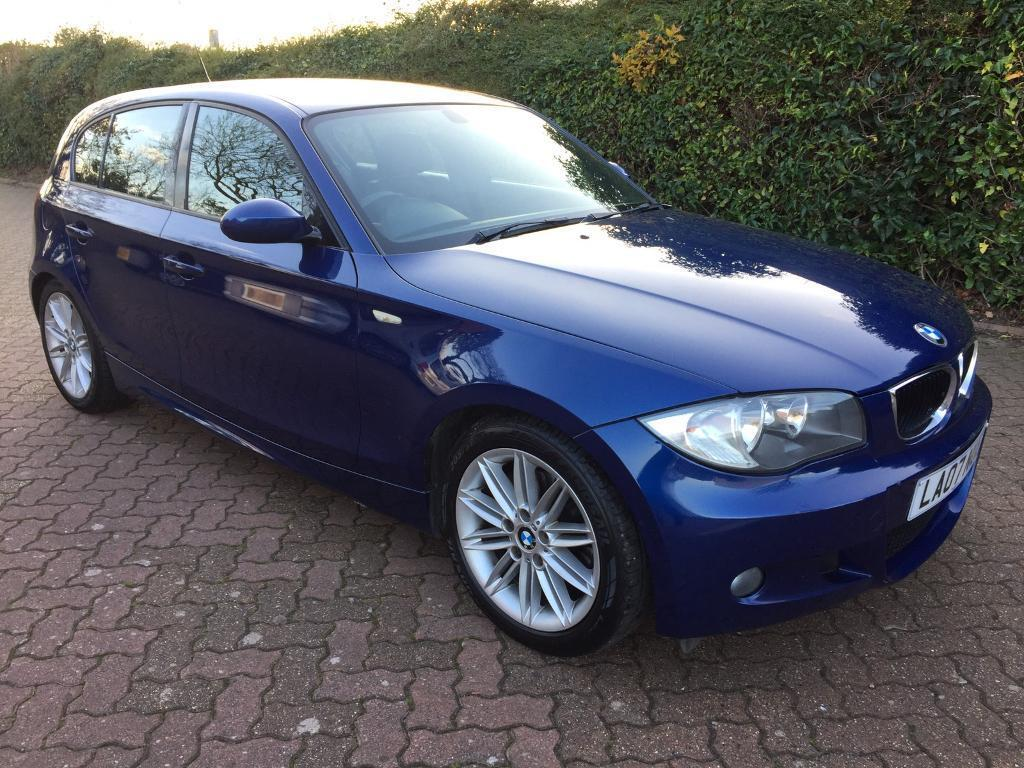 2007 bmw 1 series 120i m sport full mot low mileage full service history in norwich. Black Bedroom Furniture Sets. Home Design Ideas