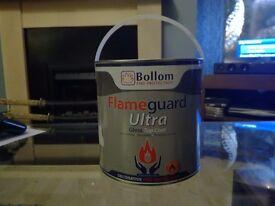 Contractors Paint - Bollom Flameguard Ultra