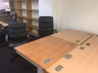 FREE Office furniture desks chairs Battersea Bridge