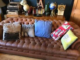 Bundle of cool quirky cushions £2 each all for £12 soft furnishings