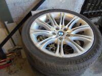 18inch genuine bmw mv2 Alloys Wheels 5 Series Vw T5 Vauxhall Vivaro traffic 5x120