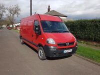 Vauxhall Movano 2005 - LWB, Hightop- 12 months MOT
