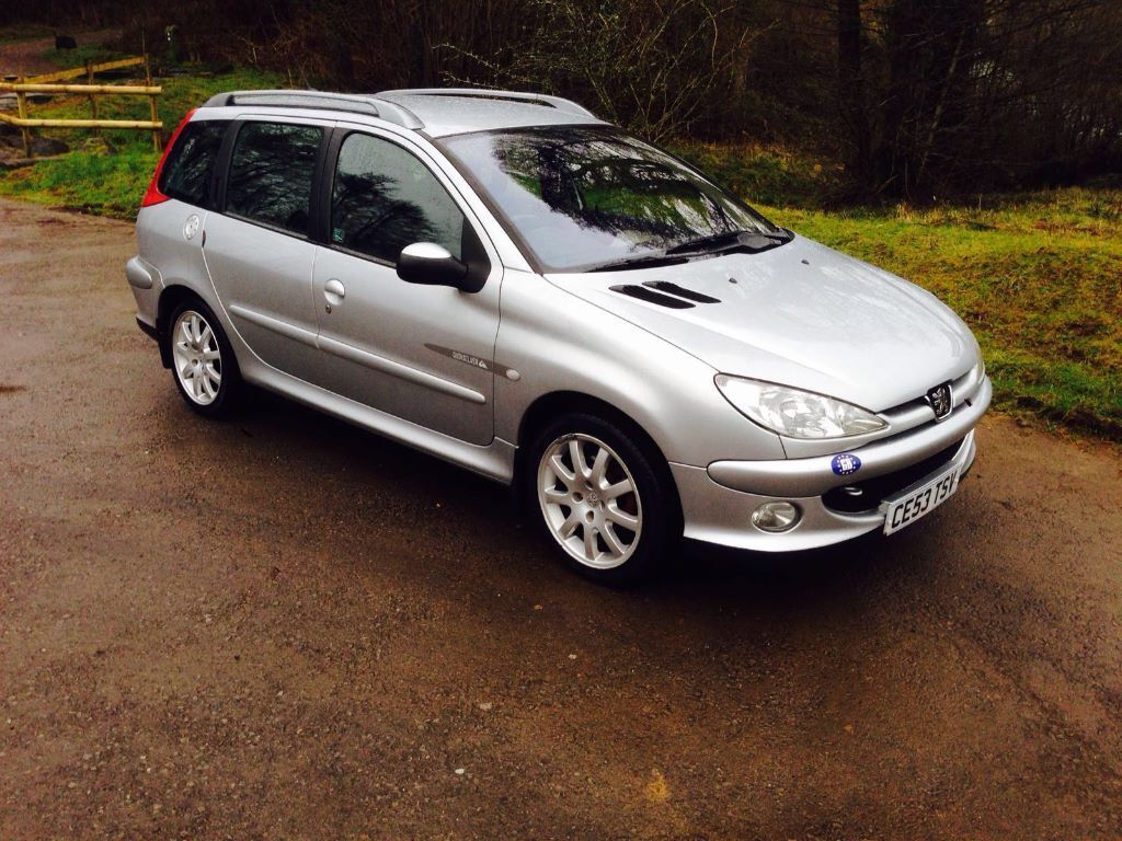 peugeot 206 sw quicksilver very nice clean car mint condition in caerphilly gumtree. Black Bedroom Furniture Sets. Home Design Ideas
