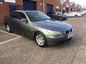 BMW l 525D E60 2004 54 PLATE FULL LEATHER