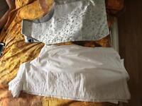 Wedding shirt and waist coat