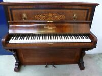 Upright Piano George Rogers & Sons (Free Local Delivery) Paddock Wood Kent