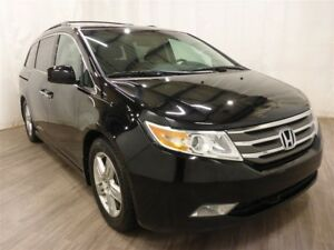 2011 Honda Odyssey Touring Power Doors DVD Leather