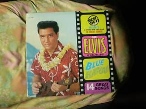 vinyl Elvis blue hawaii & G.I blues en 33 tour (sceller) neuf