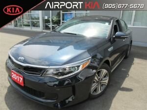 2017 Kia Optima Hybrid EX /Panoramic Sunroof/Leather/Camera/Blin