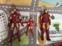 Iron man bundle including talking iron man