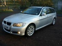 2010 BMW 320d (184bhp) SE 5d Touring Auto with full leather interior