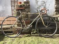 Vintage gold Puch bike singlespeed